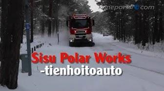 Sisu Polar Works -tienhoitoauto