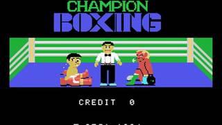 Champion Boxing (Sega 1984)  Attract Mode 60fps