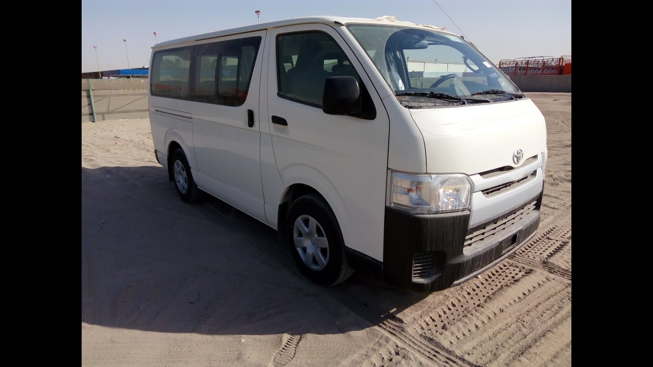 914210694d Toyota Hiace 2015 In Dubai - YouTube