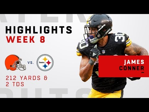 James Conner ALMOST Out Gains the Cleveland Browns!