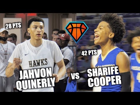 Jahvon Quinerly vs Sharife Cooper CRAZY MATCHUP Ends in OT Game-Winner!! | Combine 70 Pts