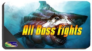 Jaws Unleashed All Boss Fights