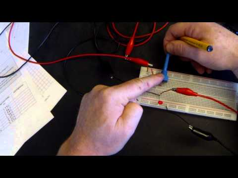 Tutorial 2 : Current Voltage (IV) Characteristics of an LED GCSE AQA Electronics