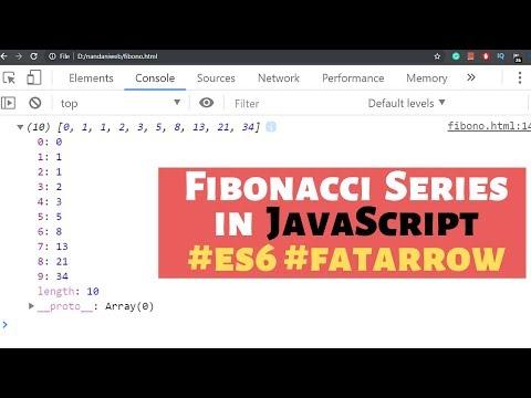 How To Program Fibonacci Series In JavaScript In Hindi