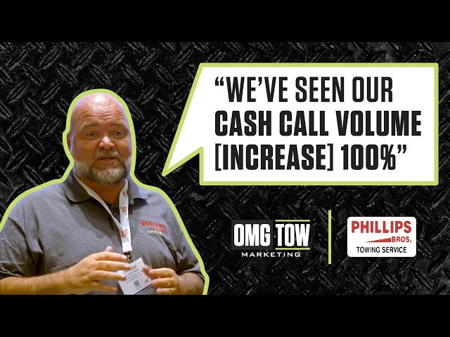 OMG Tow Marketing Testimonial - Phillips Brothers Towing