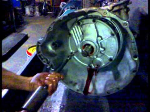 Part 3: Removal of Oil Pump - Front Clutch - Rear Clutch