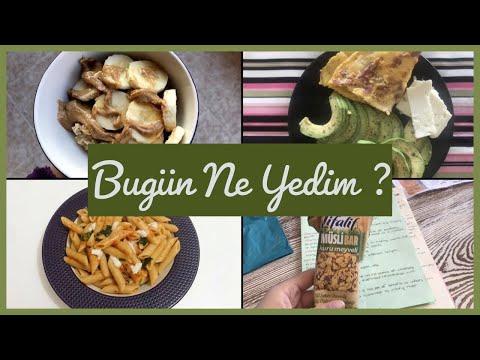 Bugün Ne Yedim ? #4   Diyette Neler Yiyorum ?   Sağlıklı Makarna Tarifi   Eylül Özgün