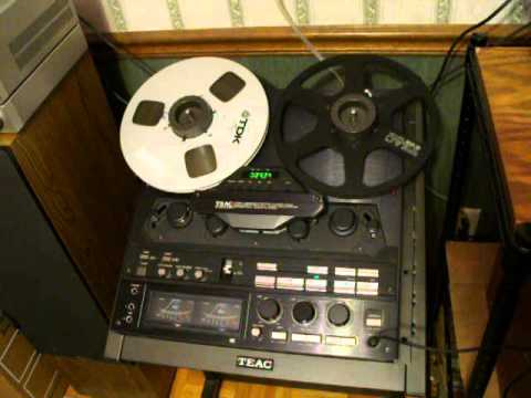 Teac X 2000r Reel To Reel In Action Wit Rc 204 Wired