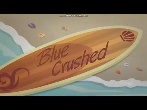 MLP EQUESTRIA GIRLS BEACH SHORTS (Blue Crushed) Part 1