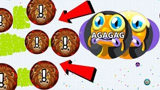 Agar.io Epic Taking Down The HACKER Dominating Best Moments Agario Mobile Gameplay