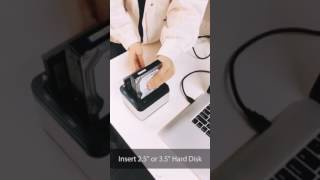 Salcar Hard Drive Docking Station with Offline Clone Function