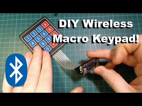 Bluetooth HID Using Just An ESP32 (inc Bluetooth Macro Keypad)