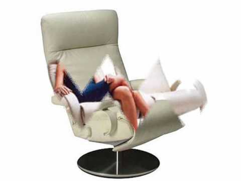 Modern Ergonomic Recliners and Leather Lounge Chairs from Lafer. - YouTube  sc 1 st  YouTube & Modern Ergonomic Recliners and Leather Lounge Chairs from Lafer ... islam-shia.org