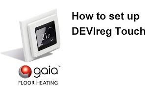 How To Set Up Devireg Touch
