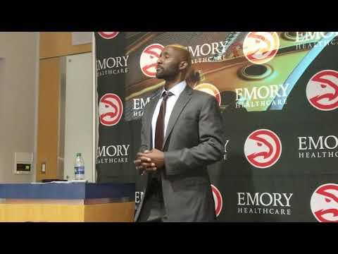 Atlanta Hawks Head Coach Lloyd Pierce After Preseason Win Over Pelicans