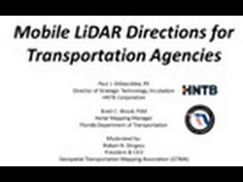 Mobile LiDAR Lessons for Transportation Agencies