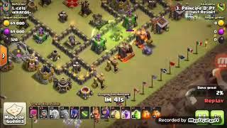 Clash of clans melhor estratégia De Cv9 Bruxa walker