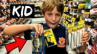 Video KID Picks My Lures Fishing CHALLENGE (8-Year-Old) download MP3, 3GP, MP4, WEBM, AVI, FLV September 2018