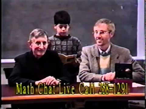 MathChat TV with Frank Morgan and Freeman Dyson