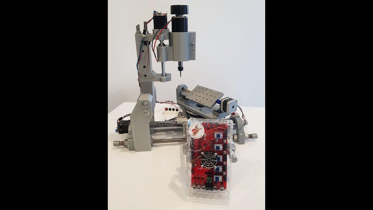 Super Gerbil CNC controller