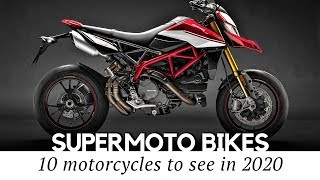 Top 10 Supermoto Bikes for Streets and Track (Production Motards of 2020)
