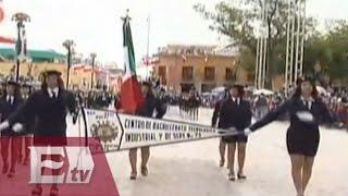 Así se vivió el desfile militar del 16 de septiembre en Guanajuato  / Nacional