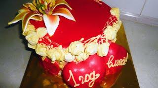 Торт на годовщину свадьбы / Wedding anniversary. Cake