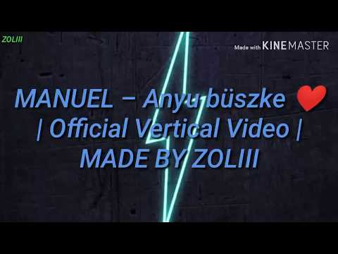 MANUEL - Anyu büszke | Bass Boosted | Official Vertical Video| MADE BY ZOLIII ❤️