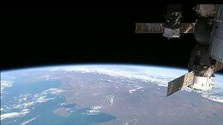 NASA astronauts conduct spacewalk at ISS