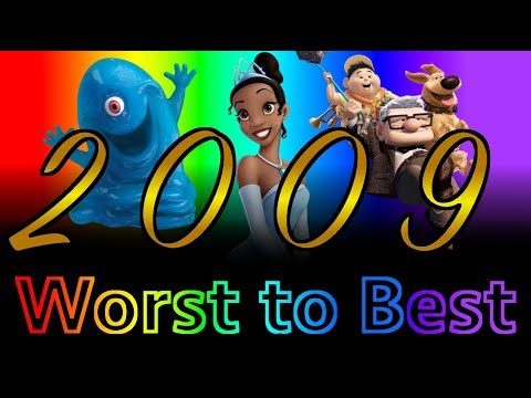 Worst to Best: Animated Films of 2009