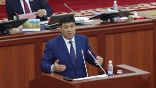 Б Торобаев Каржы министрлиги карыз алуучу министрлик болуп калды