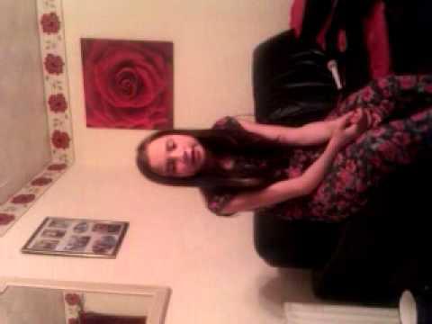 Amber Benjamin Singing Love Story - Taylor Swift