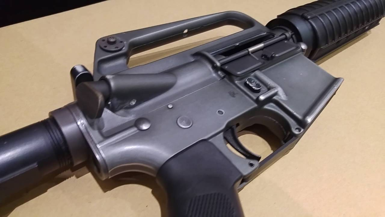 CRW試槍Viper tech Xm177 GBB