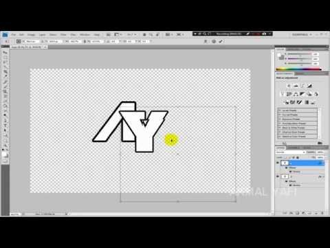 Cara Membuat Logo Huruf B di Photoshop | Photoshop Tutorial.
