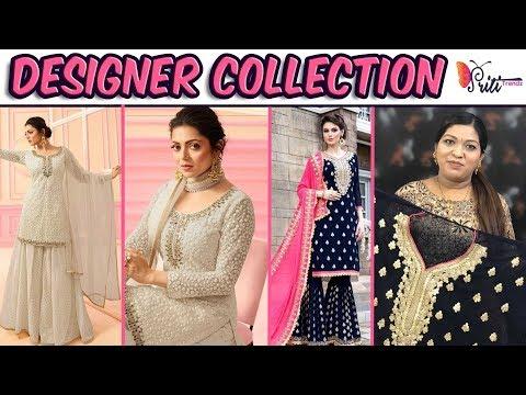 Designer Embroidered Salwar Kameez ll Online Shop ll 19 Oct 2018