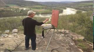 Susquehanna RIver- Plein Air to Studio Painting- with Brian Keeler
