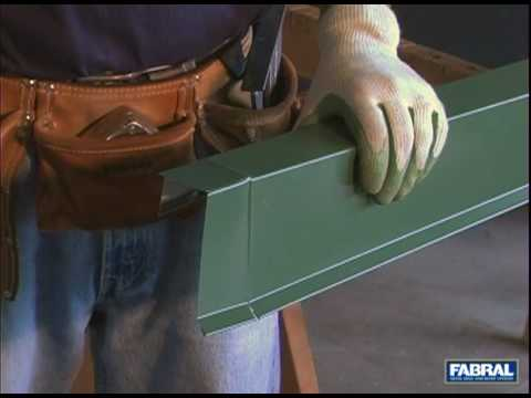 Fabral Ssr Gable Trim Folds Youtube
