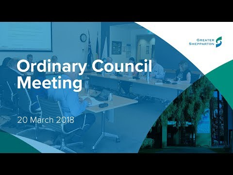 Ordinary March 2018 Council Meeting - Greater Shepparton City Council