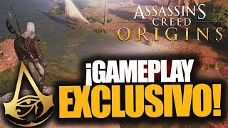 ¡GAMEPLAY EXCLUSIVO ASSASSIN'S CREED ORIGINS! - RAFITI
