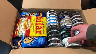 New Snus Unboxing, With Swedish Candy! 10/30/17