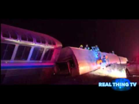 Amtrak Train Derails in Kansas with 142 people on board