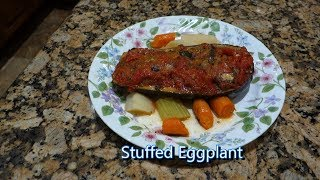 Italian Grandma Makes Stuffed Eggplant