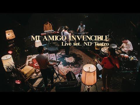 Mi Amigo Invencible - live set completo