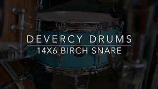 d'Evercy Drums Birch 14x6 Stave Snare