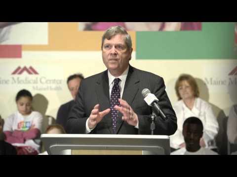 Agriculture Secretary Speaks on Nutrition