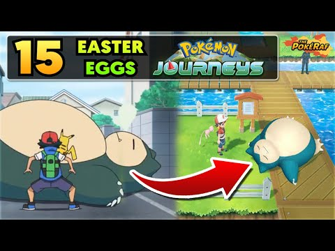 15 Easter Eggs/References in Pokémon 2019/Pocket Monsters (Episodes 1 to 5)