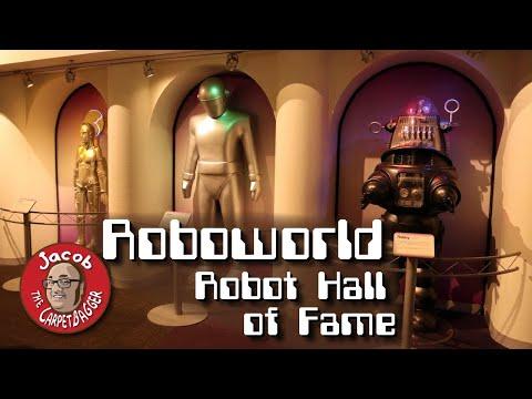 Robot Hall Of Fame At Roboworld