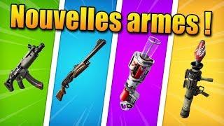 FORTNITE CHAPITRE 2 : Guide des nouvelles armes et les améliorer !