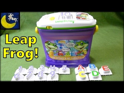 leapfrog letter factory phonics and numbers great counting toy