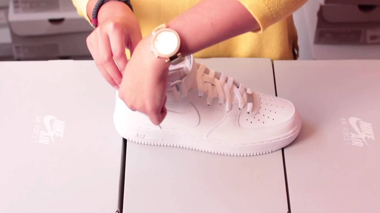 roshe runs price - BASKET NIKE AIR FORCE 1 LOW BLANCHE 315122 111 - YouTube